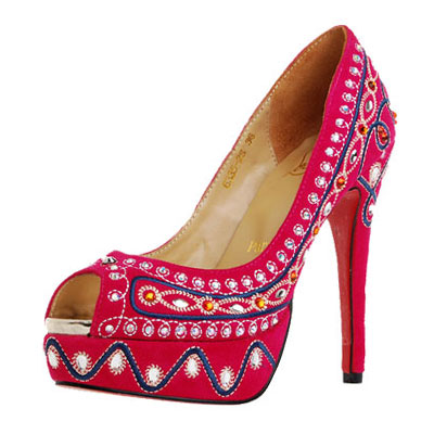 Bollywood Inspirations: Christian Louboutin\u0026#39;s Bollywood Inspired ...