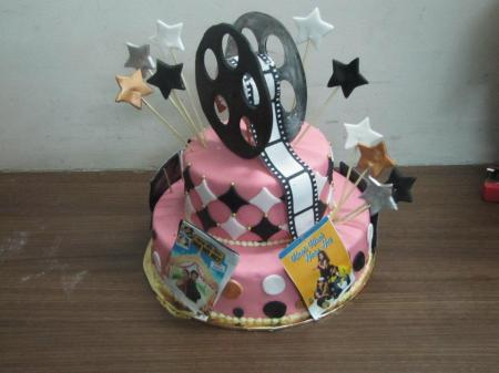 Bollywood themed birthday cake from Not Just Desserts by Sabina