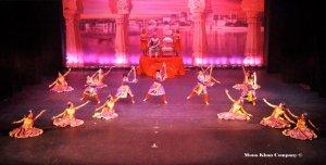 "Re-creating the Mughal era in ""America's Got Bollywood"", Spring Showcase 2012"