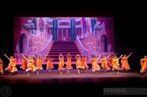 Re-defining traditional Bollywood at the Mona Khan Company Fall Showcase 2012.